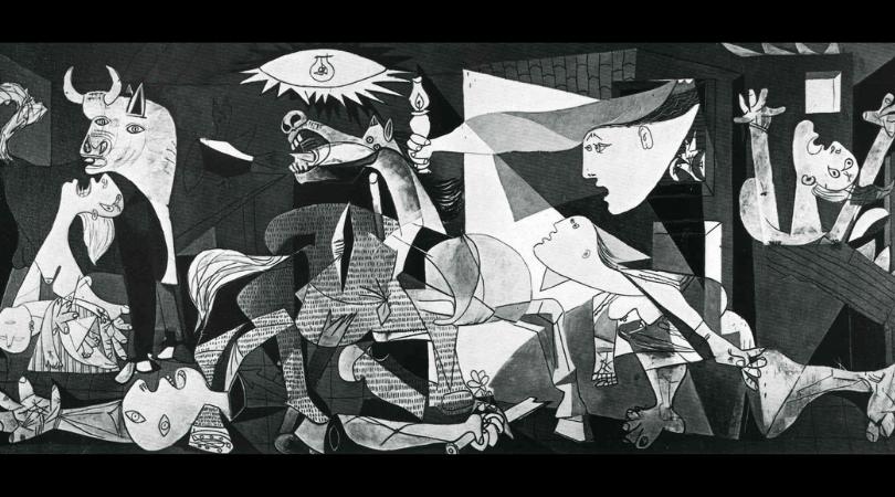 絵画 レンタル キュビズム